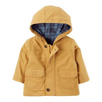 Baby Boy Carter's Hooded Twill Jacket