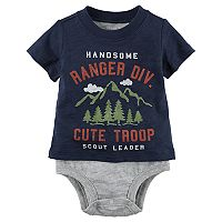 Baby Boy Carter's Mock-Layered Scout Leader Bodysuit