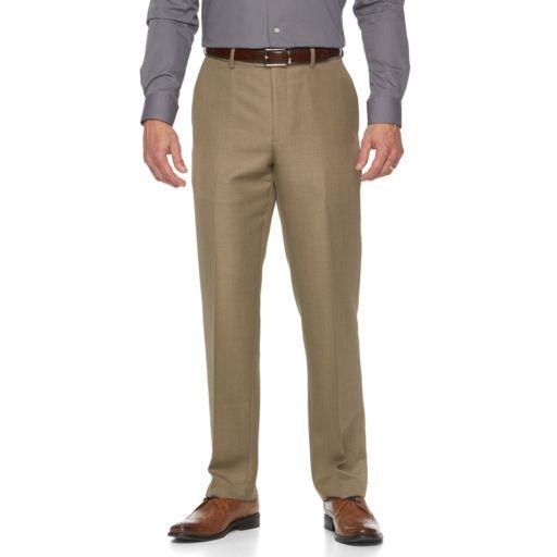 Big & Tall Croft & Barrow® Essential Classic-Fit Flat-Front Dress Pants