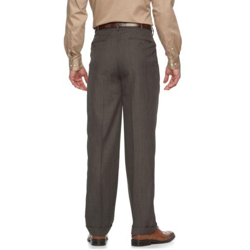Big & Tall Croft & Barrow® Essential Classic-Fit Pleated Dress Pants