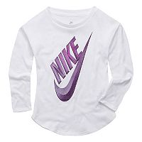 Toddler Girl Nike Futura Long Sleeve Tee