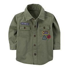 Baby Boy Carter's Ripstop Button-Front Shirt