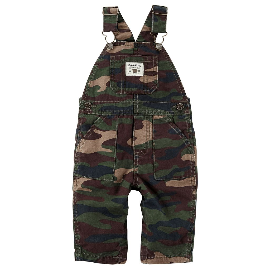 Baby Boy Carter's Camouflage Overalls