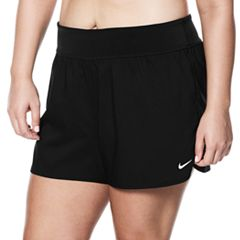 Plus Size Nike Cover-Up Swim Shorts