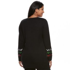 Juniors' Plus Size It's Our Time  Gingerbread Tunic