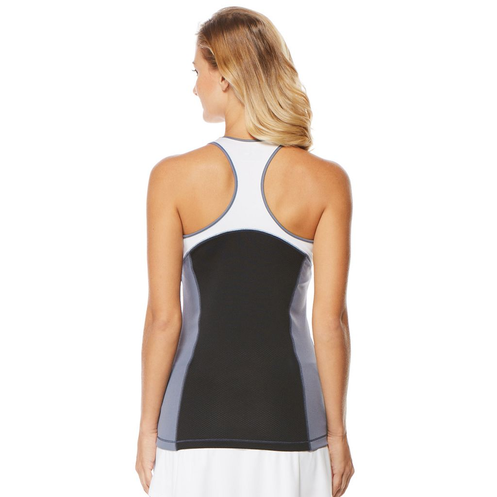 Women's Grand Slam Color Block Golf Racerback Tank