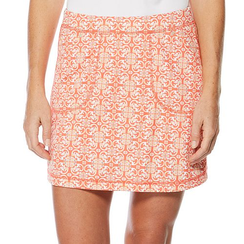 Women's Grand Slam Mosaic Tile Print Golf Skort