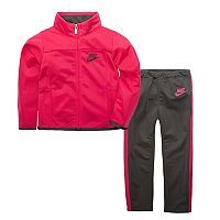 Toddler Girl Nike Zip Track Jacket & Pants Set