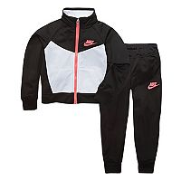 Toddler Girl Nike Colorblock Track Jacket & Jogger Pants Set