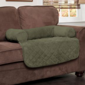 Innovative Textile Solutions Plush Bolster & Waterproof Microfiber Pet Chair Liner