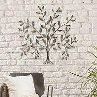 Stratton Home Decor Metal Tree Wall Decor