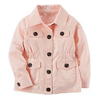 Baby Girl Carter's Pink Utility Jacket