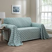 Innovative Textile Solutions Reversible Ogee Sofa Throw