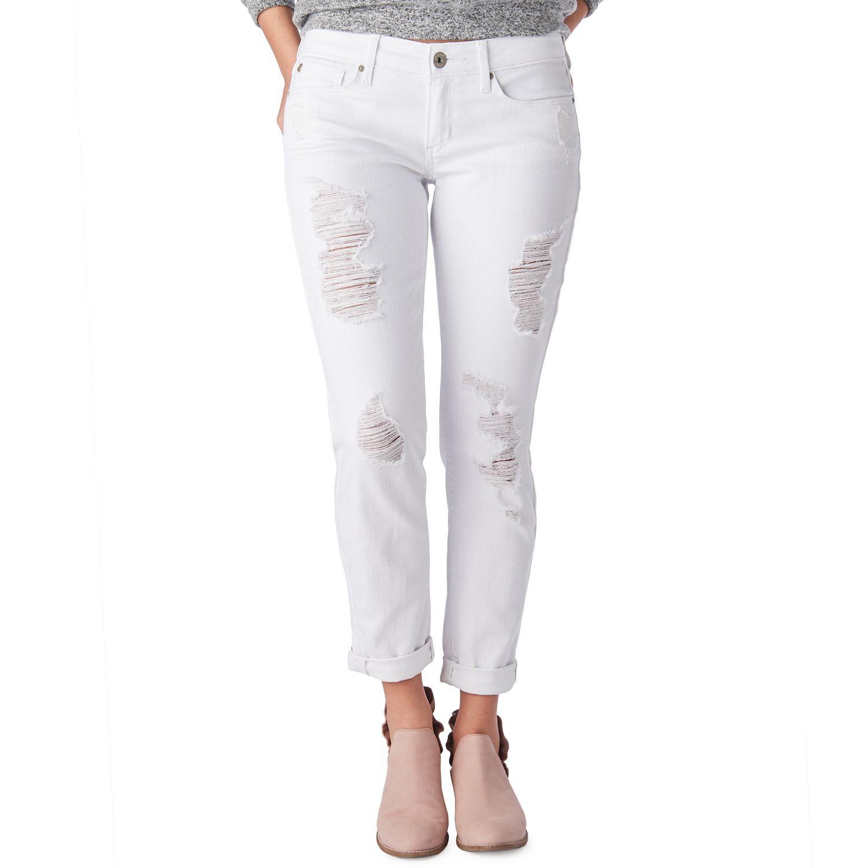 4aa388b92 Juniors  DENIZEN from Levi s Ripped Boyfriend Jeans. Was  Price Drop