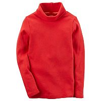 Baby Girl Carter's Red Turtleneck Top