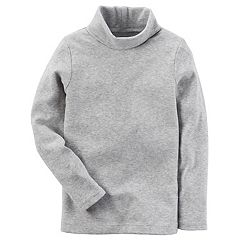 Baby Girl Carter's Gray Turtleneck Top