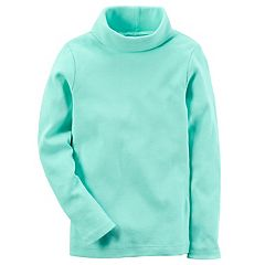 Baby Girl Carter's Mint Turtleneck Top