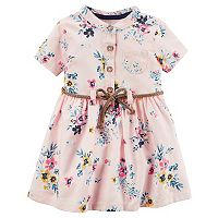 Baby Girl Carter's Pink Floral Dress