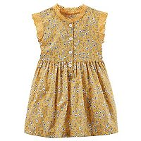 Baby Girl Carter's Yellow Floral Dress