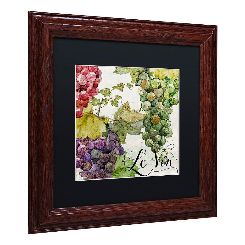 Trademark Fine Art Wines Of Paris II Framed Wall Art