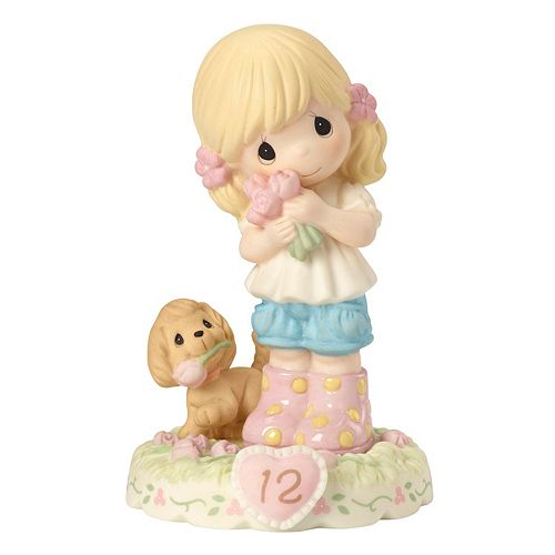 Precious Moments Growing In Grace Age 12 Girl Figurine