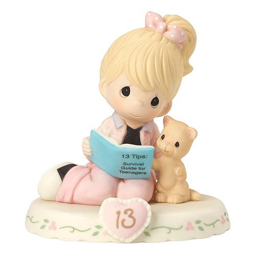 Precious Moments Growing In Grace Age 13 Girl Figurine