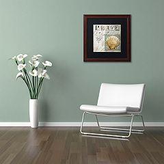 Trademark Fine Art Beach Book I Framed Wall Art