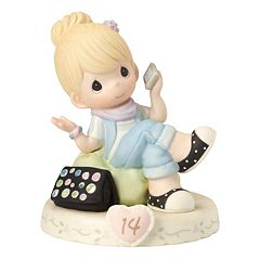 Precious Moments Growing In Grace Age 14 Girl Figurine