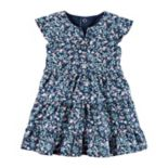 Baby Girl Carter's Ditsy Floral Dress