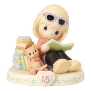 Precious Moments Growing In Grace Age 15 Girl Figurine