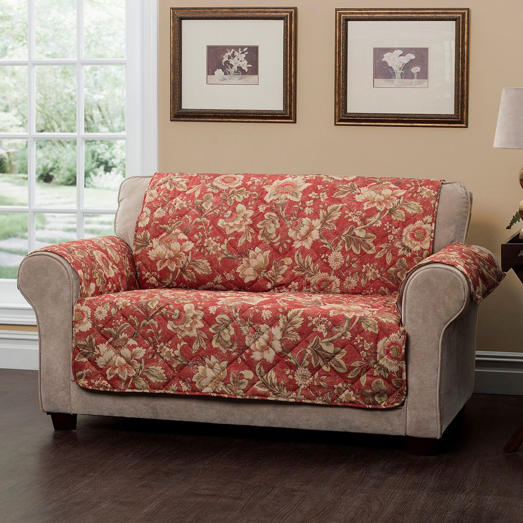 Innovative Textile Solutions Vivianne Loveseat Slipcover