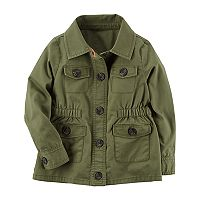 Toddler Girl Carter's Twill Jacket