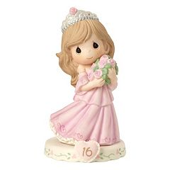 Precious Moments Growing In Grace Age 16 Girl Figurine