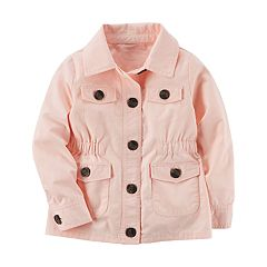 Toddler Girl Carter's Twill Jacket