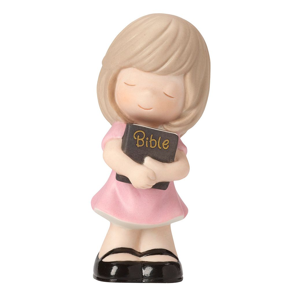 Precious Moments Let His Words Guide You Girl Figurine