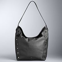 Simply Vera Vera Wang Quentin Double Entry Studded Tote