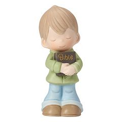 Precious Moments Let His Words Guide You Boy Figurine