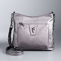 Simply Vera Vera Wang Signature Crossbody Bag