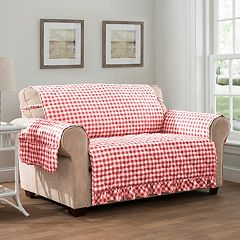 Innovative Textile Solutions Gingham XL Sofa Slipcover