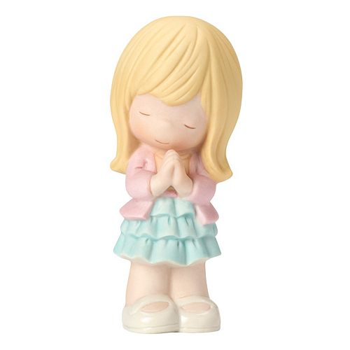 Precious Moments Prayer Changes Things Girl Figurine