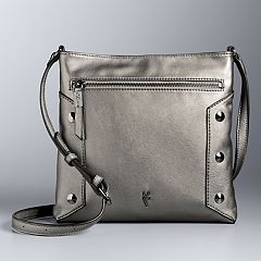 Simply Vera Vera Wang Quentini Studded Crossbody Bag
