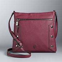 Simply Vera Vera Wang Quentini Studded Crossbody Bag