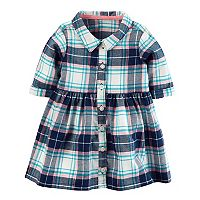 Baby Girl Carter's Plaid Shirtdress