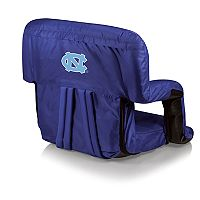 Picnic Time North Carolina Tar Heels Ventura Portable Recliner Chair
