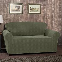 Stretch Sensation Stretch Plaid Sofa Slipcover