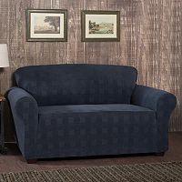 Stretch Sensation Stretch Plaid Sofa Slipcover