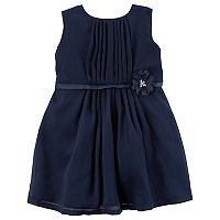Baby Girl Carter's Crinkle Chiffon Dress