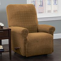 Stretch Sensation Basketweave Recliner Slipcover