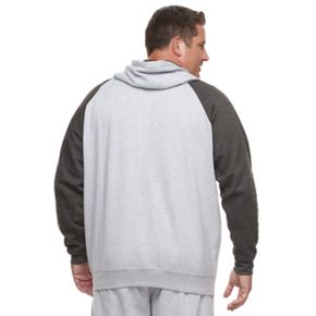 Big & Tall Russell Modern-Fit Full-Zip Raglan Hoodie