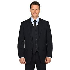 Men's Dockers Classic-Fit Striped Navy Suit Jacket